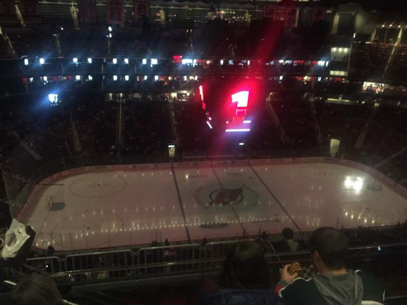 Seating view for Prudential Center Section 211 Row 4 Seat 15
