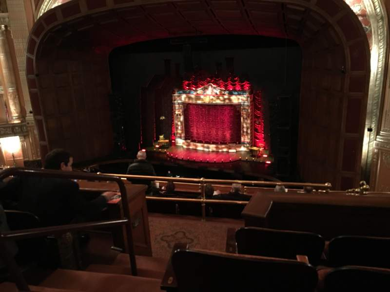 Seating view for Benedum Center Section 1st Tier (Balcony) Right Row D Seat 44