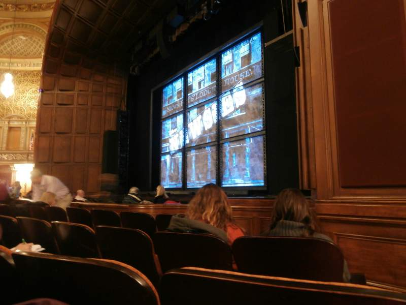 Seating view for Benedum Center Section Orchestra Right Center Row C Seat 46