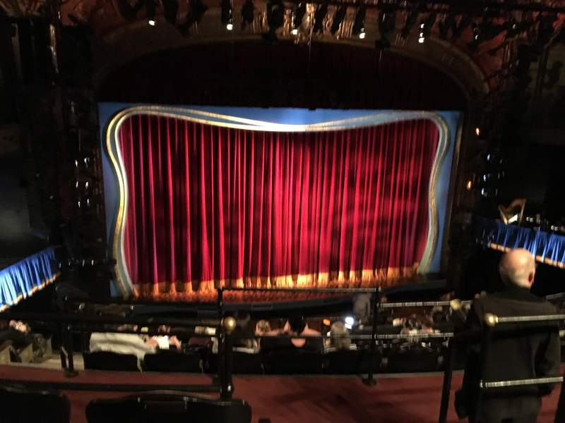 Seating view for Studio 54 Section Mid-Mezzanine Row GG Seat 101