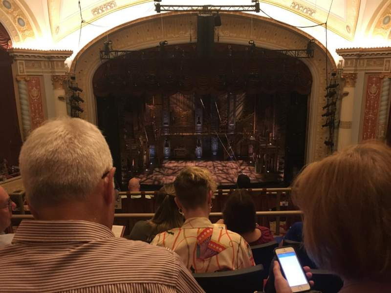 KeyBank State Theatre, section: Mezz, row: H, seat: 605