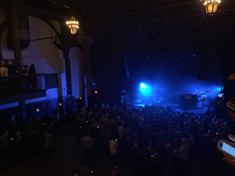 Seating view for Union Transfer Section BALC Row GA