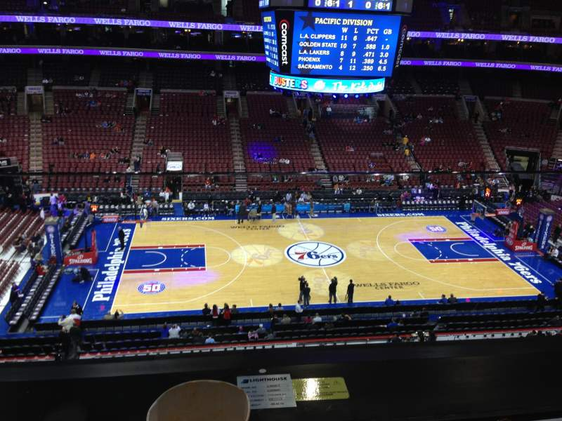 Seating view for Wells Fargo Center Section Suite 5 Row 1 Seat 5