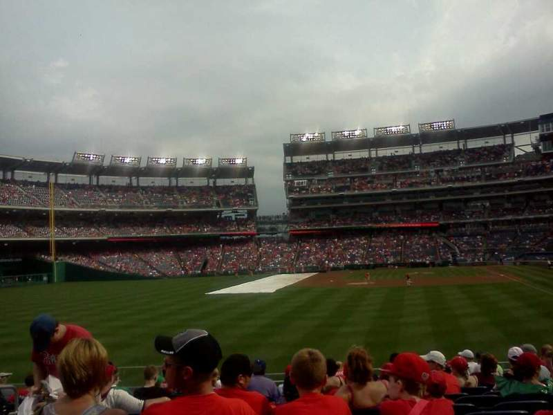 Seating view for Nationals Park Section 142 Row 15