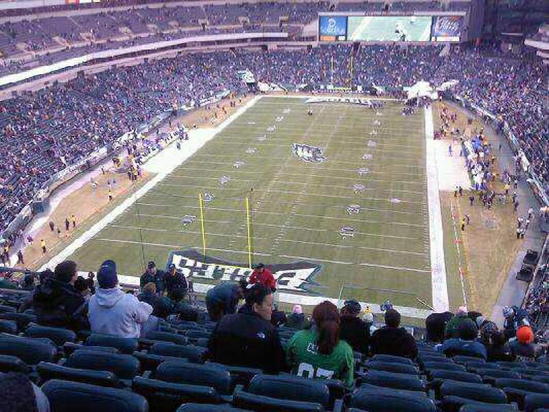 Seating view for Lincoln Financial Field Section 237 Row 19 Seat 11