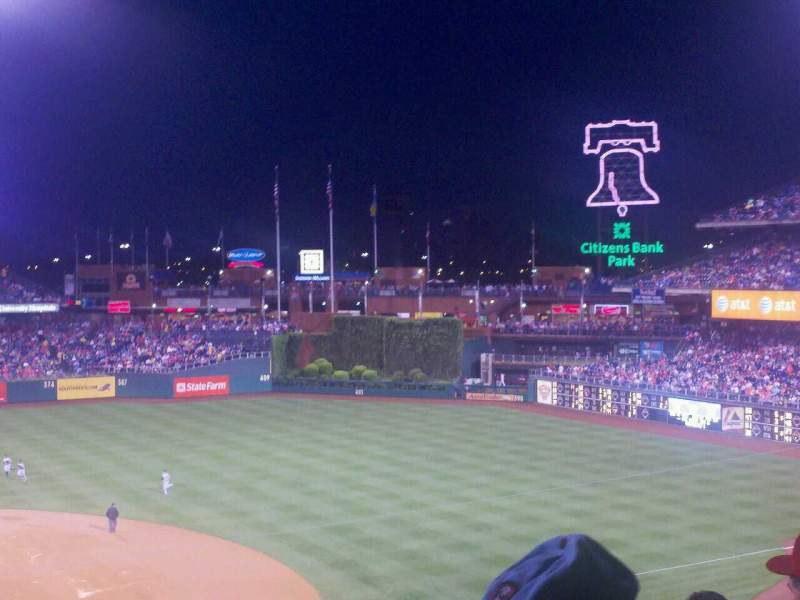Seating view for Citizens Bank Park Section 216 Row 5 Seat 17