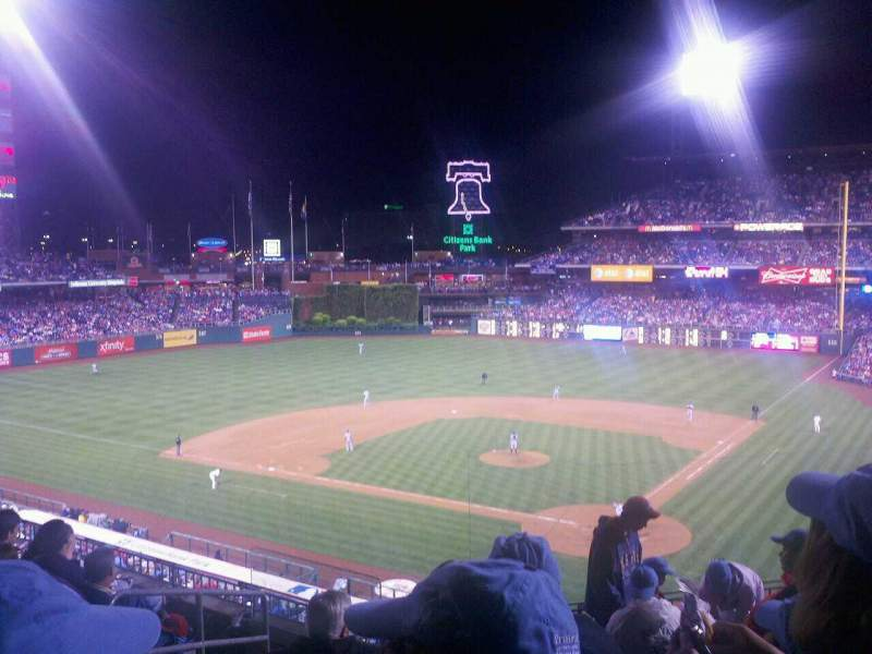 Seating view for Citizens Bank Park Section 224 Row 7 Seat 13