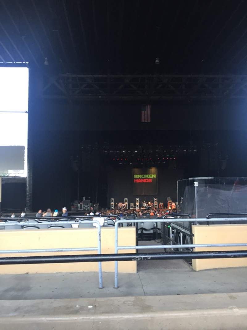 Seating view for Hollywood Casino Amphitheatre (Tinley Park) Section 205 Row NN Seat 12