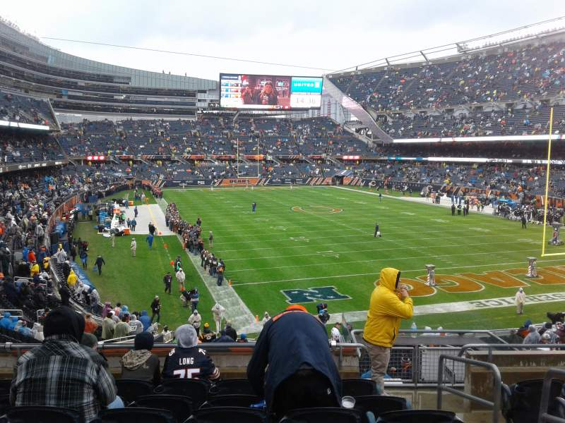 Soldier Field, section: 255, row: 7, seat: 15