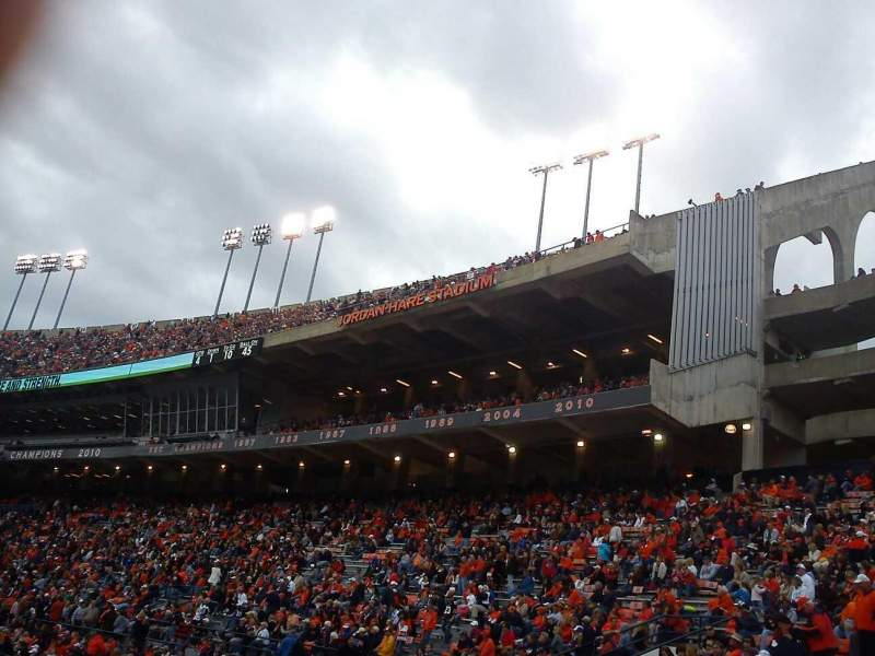 Seating view for Jordan-Hare Stadium Section 43 Row 46 Seat 11