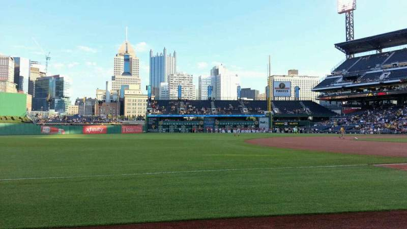 Seating view for PNC Park Section 27 Row B Seat 3