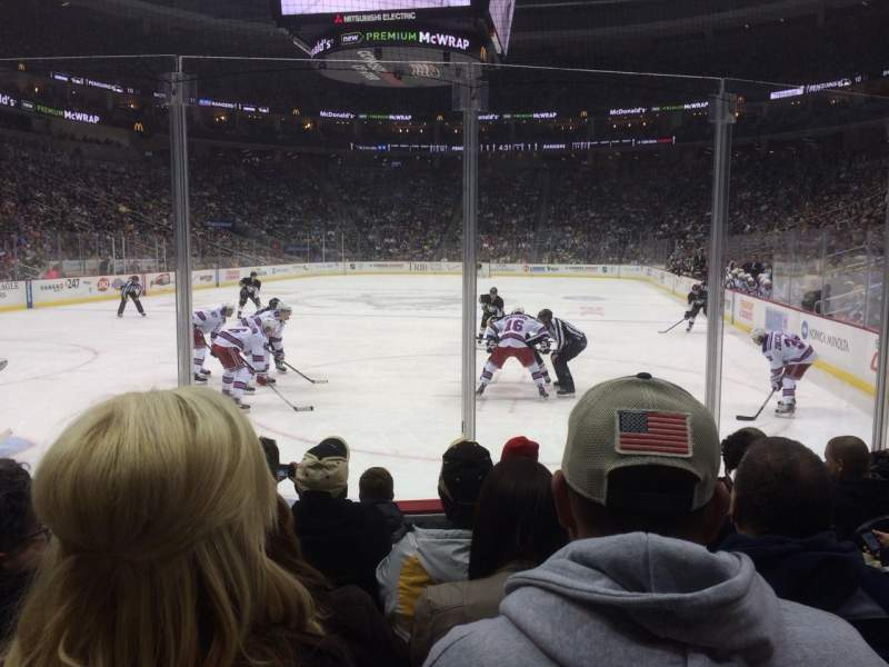 PPG Paints Arena, section: 106, row: E, seat: 5