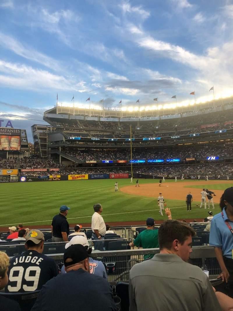 Yankee Stadium, section: 128, row: 4, seat: 3