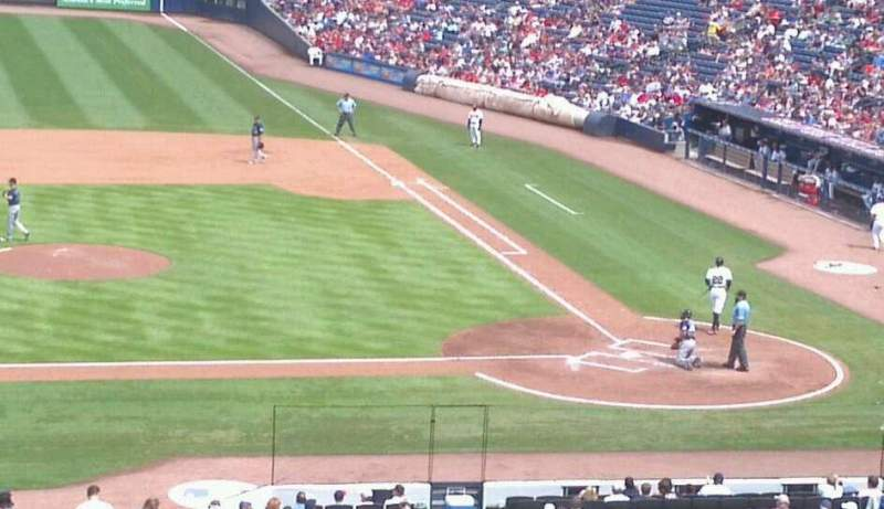 Seating view for Turner Field Section 206 Row 14 Seat 1
