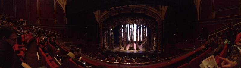 Broadway Theatre - 53rd Street, section: FMezC, row: c, seat: 111