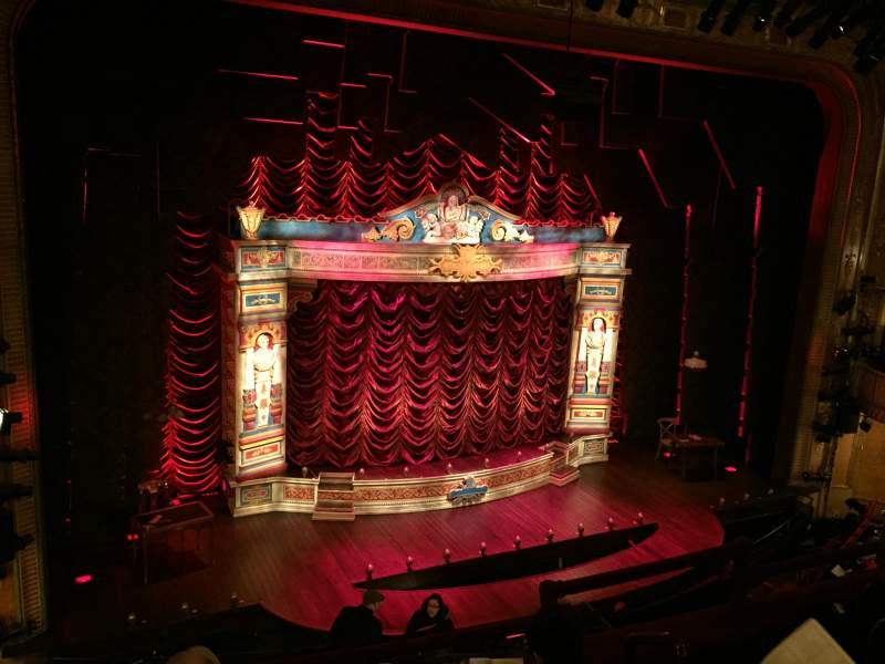 Seating view for Walter Kerr Theatre Section Mezz Right Row D Seat 7