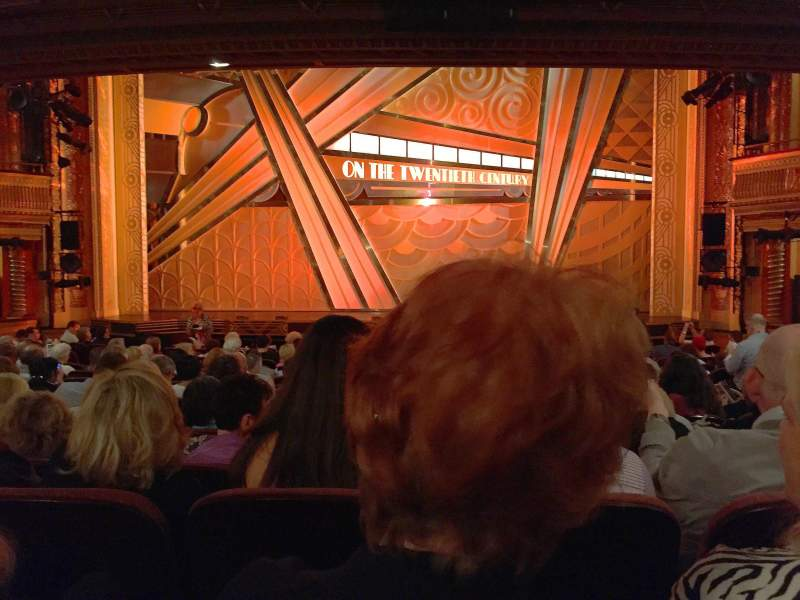 American Airlines Theatre, section: Orch, row: O, seat: 103
