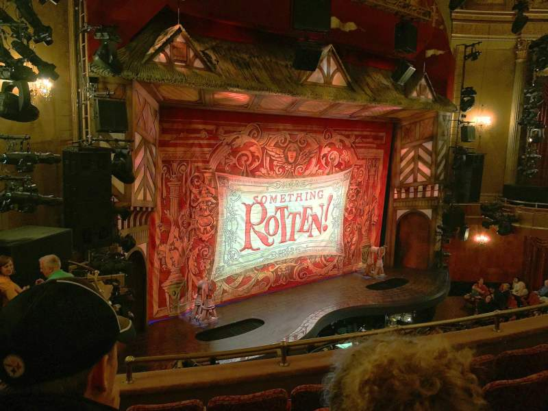 Seating view for St. James Theatre Section Mezzo Row E Seat 25