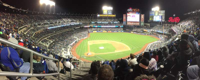 Seating view for Citi Field Section 509 Row 8 Seat 1