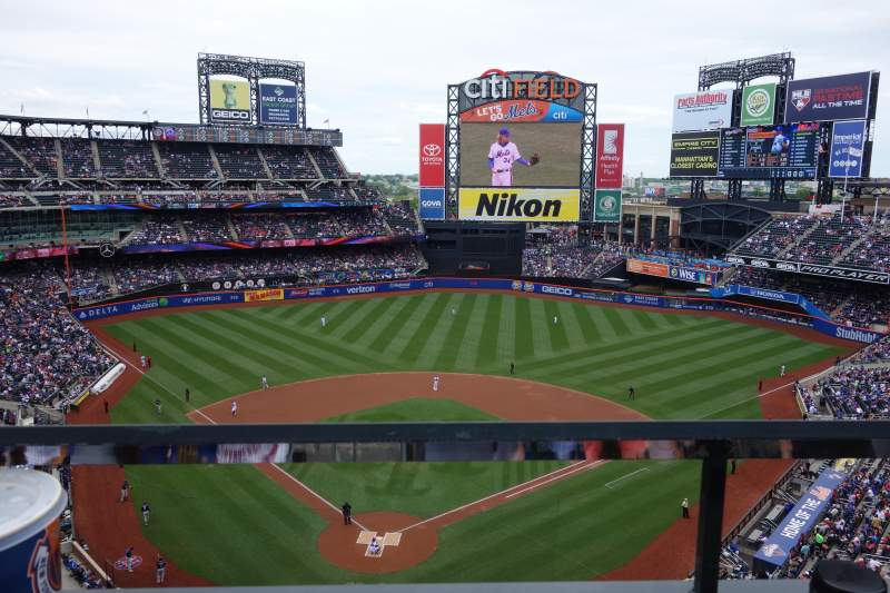 Seating view for Citi Field Section 513 Row 1 Seat 11
