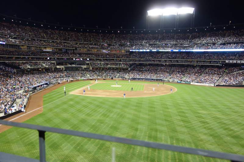 Seating view for Citi Field Section 301 Row 1 Seat 14