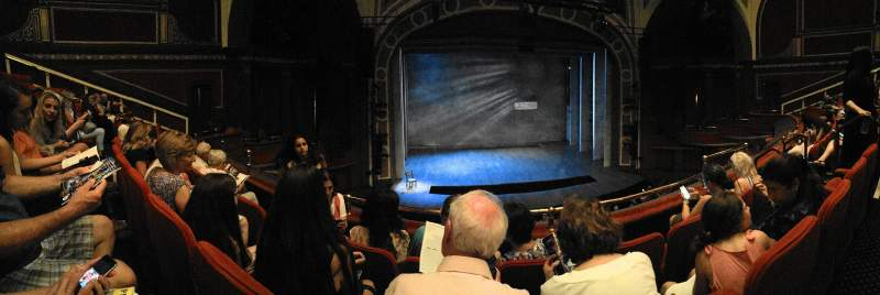 Seating view for Broadway Theatre - 53rd Street Section Front Mezzanine RC Row C Seat 111