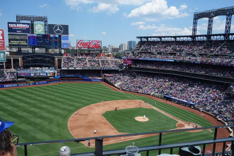 Citi Field, section: 523, row: 2, seat: 7