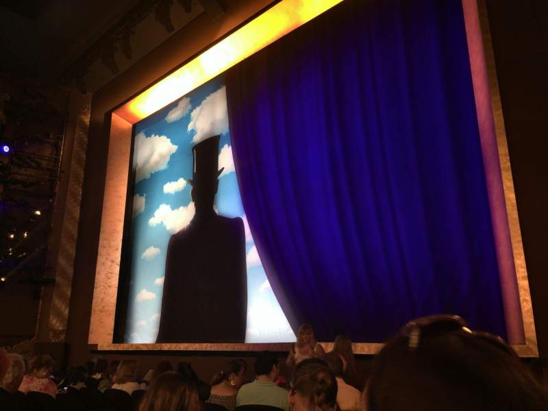 Seating view for Lunt-Fontanne Theatre Section Orchestra R Row J Seat 16