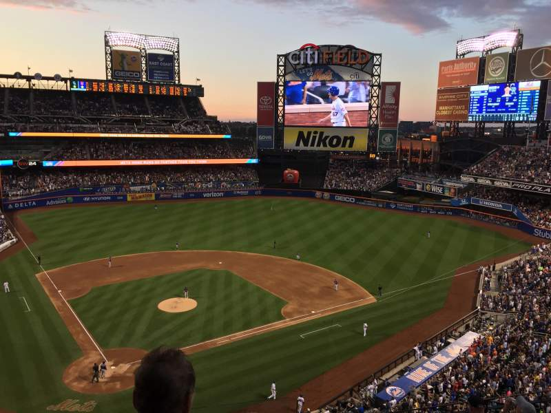 Seating view for Citi Field Section 412 Row 7 Seat 13