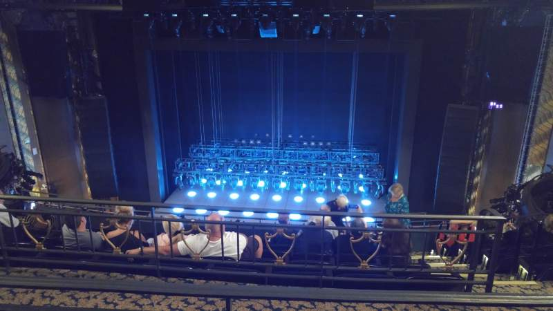 Seating view for Lunt-Fontanne Theatre Section Rear Mezzanine RC Row B Seat 108