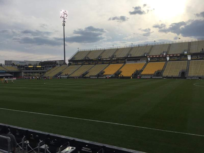 Seating view for Mapfre Stadium Section 103 Row 4 Seat 7