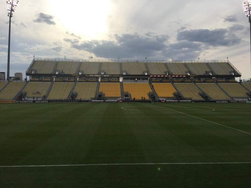 Seating view for Mapfre Stadium Section 108 Row 4 Seat 1