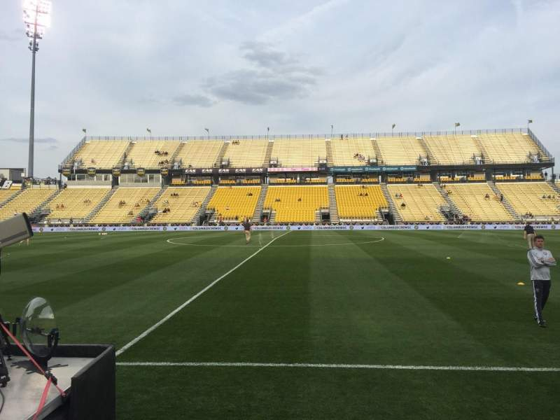 Seating view for Mapfre Stadium Section 126 Row 5 Seat 6
