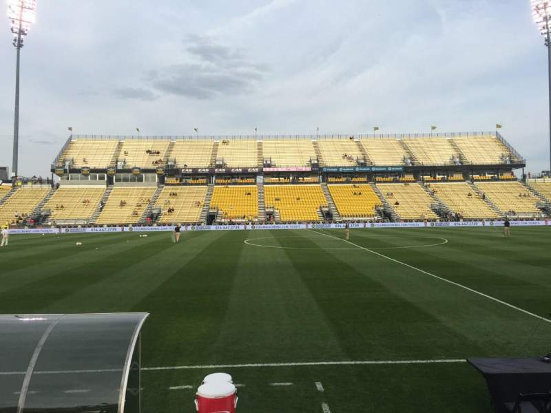 Seating view for Mapfre Stadium Section 127 Row 4 Seat 5