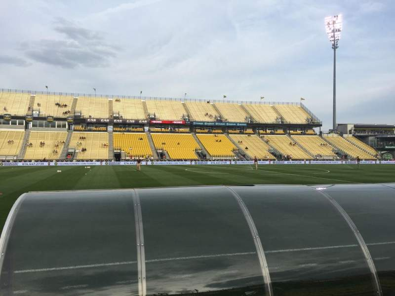 Seating view for Mapfre Stadium Section 128 Row 4 Seat 6