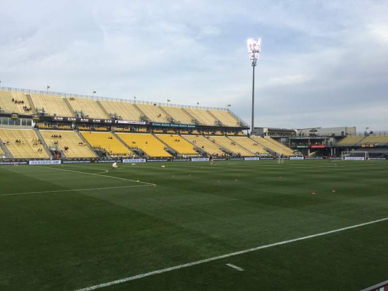 Seating view for Mapfre Stadium Section 130 Row 3 Seat 1