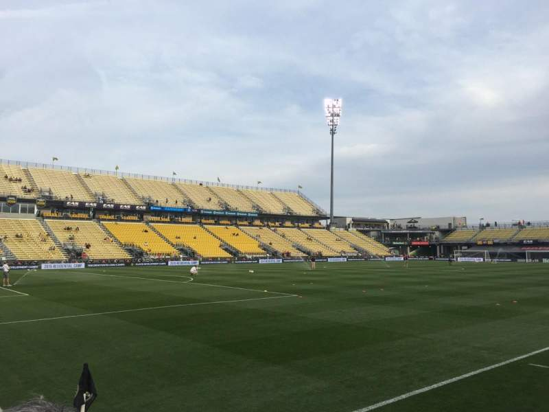 Seating view for Mapfre Stadium Section 131 Row 8 Seat 5