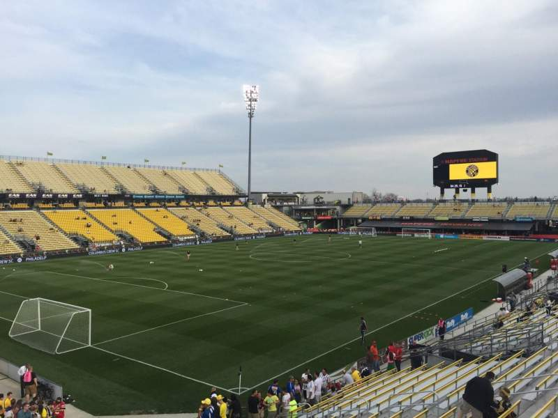 Seating view for Mapfre Stadium Section 132 Row 24 Seat 30