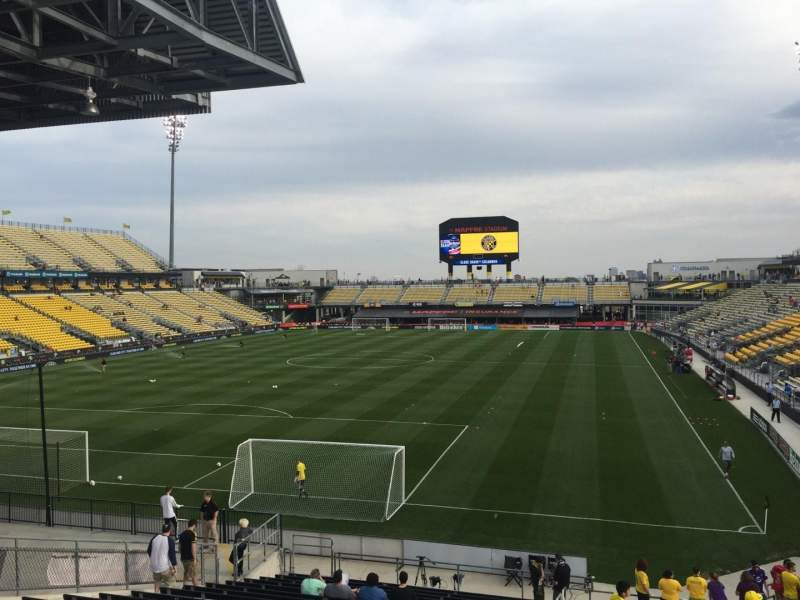 Seating view for Mapfre Stadium Section 134 Row 34 Seat 38