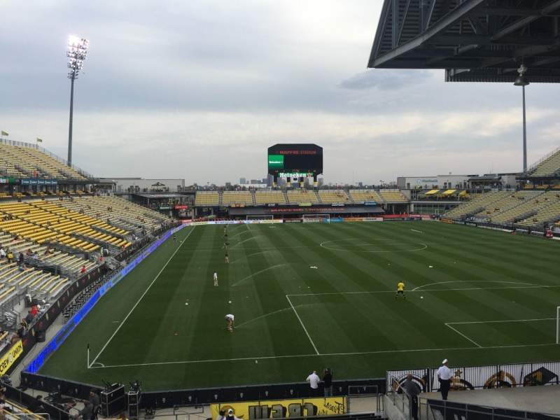Seating view for Mapfre Stadium Section 139 Row 24 Seat 38