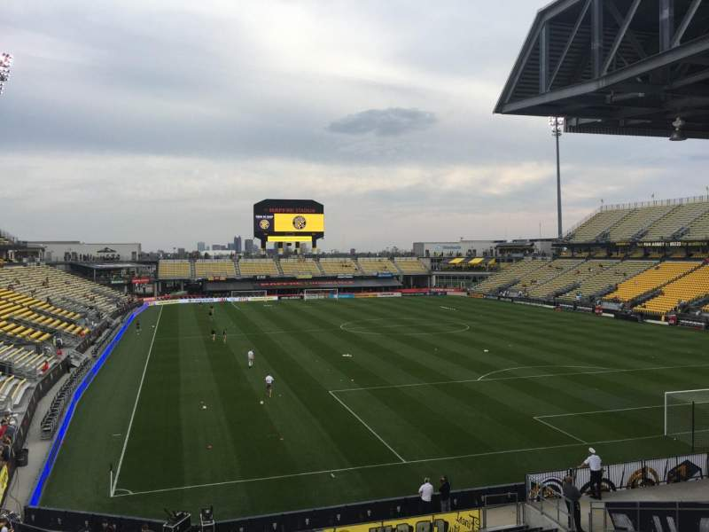 Seating view for Mapfre Stadium Section 140 Row 24 Seat 38