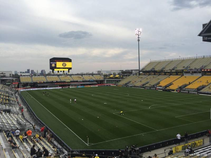 Seating view for Mapfre Stadium Section 142 Row 24 Seat 38