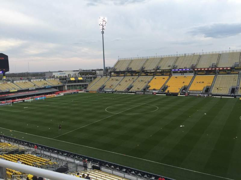 Seating view for Mapfre Stadium Section 203 Row 1 Seat 6