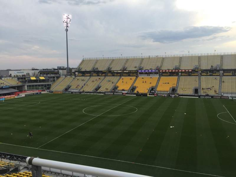 Seating view for Mapfre Stadium Section 205 Row 2 Seat 7