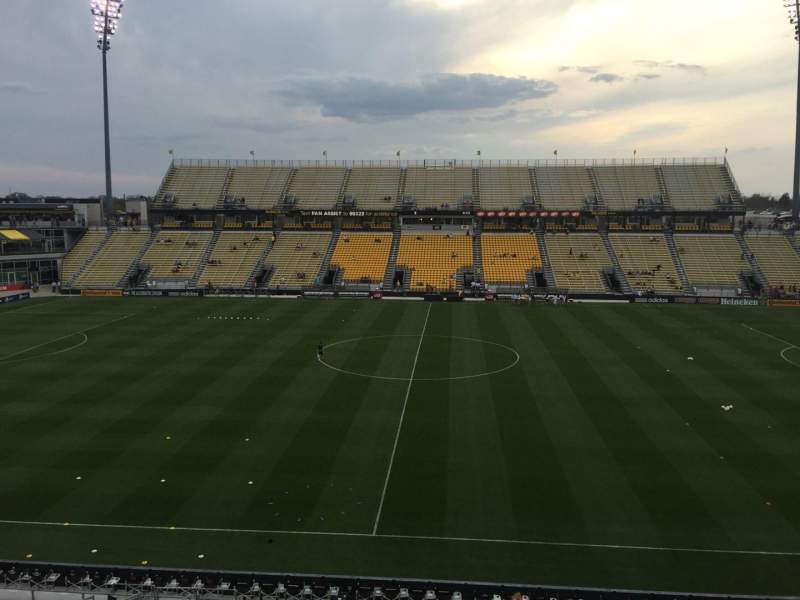 Seating view for Mapfre Stadium Section 206 Row 2 Seat 7