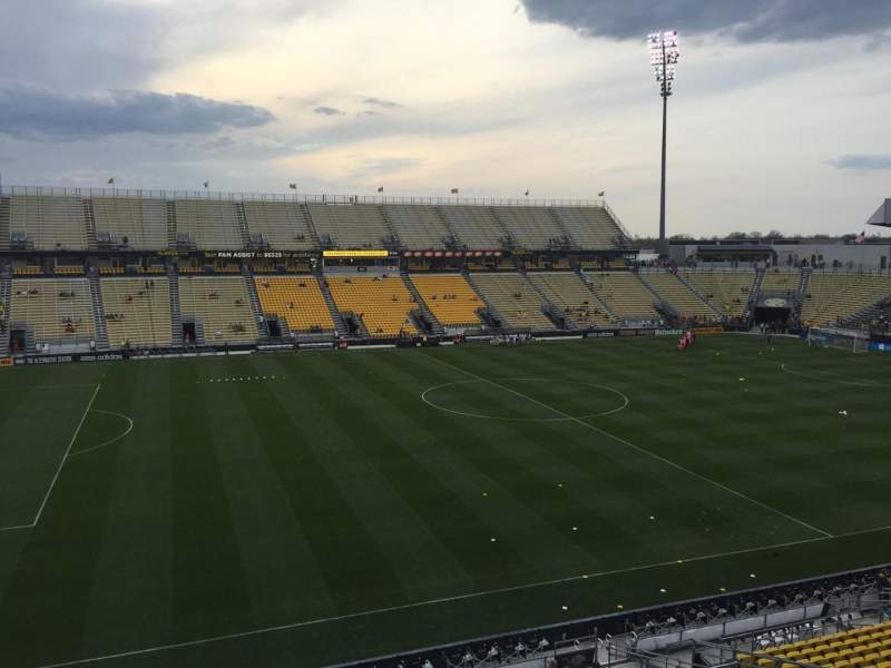 Seating view for Mapfre Stadium Section 210 Row 6 Seat 21