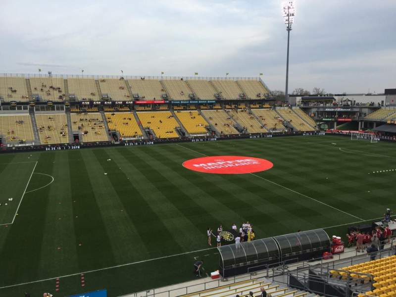 Seating view for Mapfre Stadium Section 228 Row 1 Seat 2