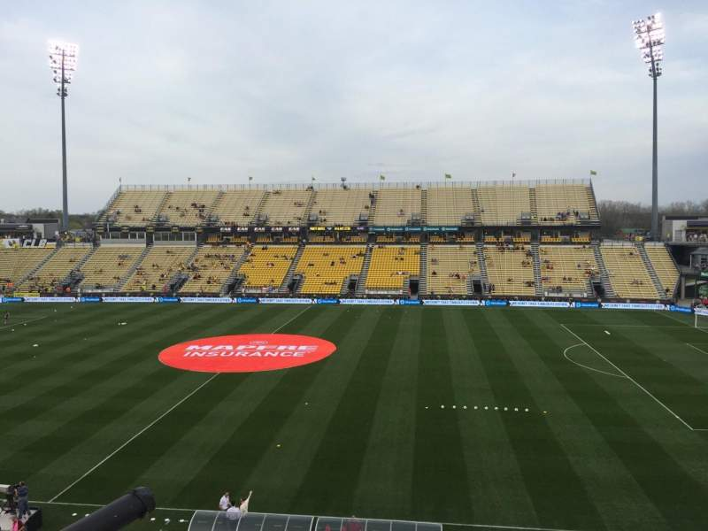 Seating view for Mapfre Stadium Section 224 Row 1 Seat 13