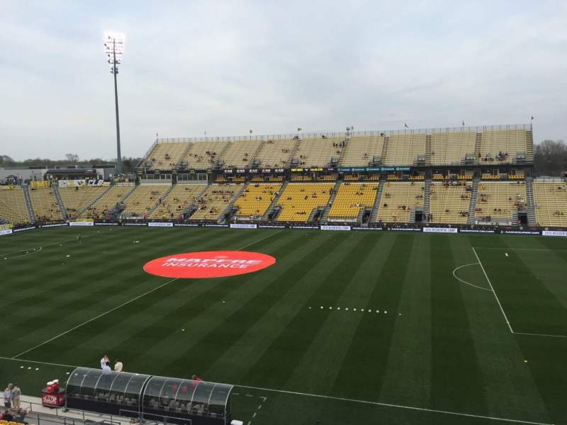 Seating view for Mapfre Stadium Section 223 Row 2 Seat 18