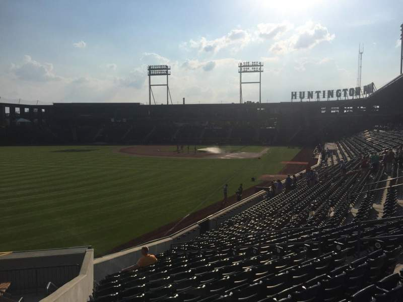 Seating view for Huntington Park Section 26 Row T Seat 17